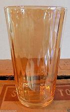 VINTAGE NEW CASE / LOT OF 36 Jeannette Glass Marigold Carnival Glasses Tumblers