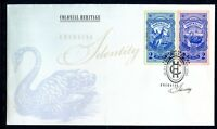 2011 Colonial Heritage! Emerging Identity (Gummed Stamps) FDC - Swan Hill Vic PM