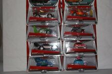 DISNEY PIXAR CARS LOT 8 TUNERS VEHICLE SUKI HARUMI SNOT ROD DJ WINGO BOOST MIP