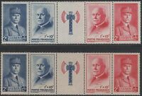 "FRANCE N° 571A "" SECOURS NATIONAL PETAIN VARIETE DE PAPIER "" NEUFS xx LUXE A218"