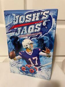Josh Allen Buffalo Bills QB Cereal (Josh's Jaqs) - LIMITED EDITION Never Opened