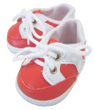 For Bitty Baby Dolls; Red Gym Shoes Doll Clothes Sew Beautiful
