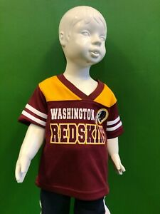 B575/100 NFL Washington Redskins Jersey-Style Top Toddler 18 months
