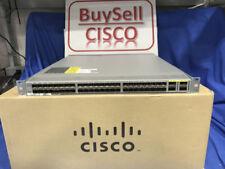 Cisco Nexus (N3K-C3064PQ-10GX) 48-Ports Rack-Mountable Ethernet Switch Dual AC