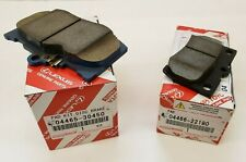 LEXUS OEM FACTORY FRONT AND REAR BRAKE PAD SET 2006-2013 IS350 (LOW DUST FRONTS)