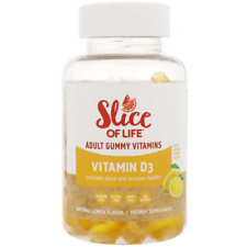 NEW HERO NUTRITIONAL PRODUCTS SLICE OF LIFE VITAMIN D3 ADULT GUMMY VITAMINS