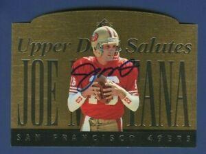 1995 Upper Deck Salutes #JM1 Joe Montana JSA Authenticated Autographed Card !!!!