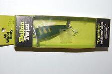 rare old dalton twist dt43 yf frog pattern propeller prop bait fishing lure