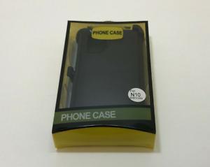 For Samsung Galaxy Note 10 N10+ Heavy Duty Case w/ Belt Clip fits Black