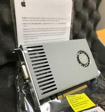 APPLE MAC PRO Genuine Nvidia GeForce GT120 512MB GRAPHICS CARD 4.1 5.1 NUOVA