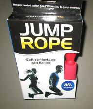 Red Soft Grip Handle 8 Feet Long Jump Rope