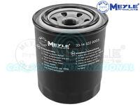 Meyle Oil Filter, Screw-on Filter 33-14 322 0003