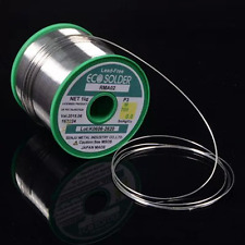 3FT 1000mm Long Solder Soldering Wire 0.8mm Lead Free 3% Silver FLUX PCB DIY