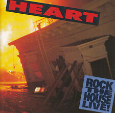Heart ‎CD Rock The House Live! - Europe