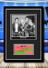 More details for (#259)  sex pistols signed  photograph framed/unframed reprint great gift ******
