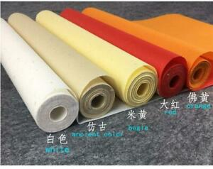 1 Roll Chinese Calligraphy / Painting  Raw Rice Paper Japanese Sumi-E Xuan