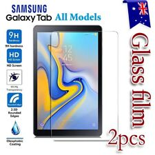 2X Samsung Galaxy Tab A6 7.0 10.1 A 10.5 S4 10.5 Tempered Glass Screen Protector