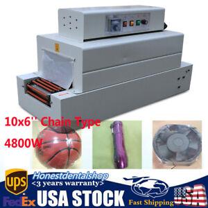 Heat Shrink Tunnel Packaging Machine Universal 110V Chain Type Packing Machine