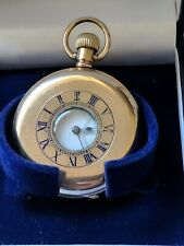 Half Hunter Gold-plated Pocket Watch Americans watch co Empress