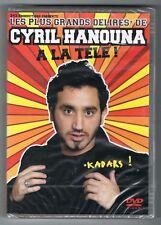 CYRIL HANOUNA - À LA TÉLÉ ! - LES PLUS GRANDS DÉLIRES - DVD - NEUF NEW NEU
