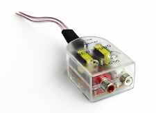 Lautsprecherkabel auf Cinch Adapter Converter High Low Cinch Ausgang
