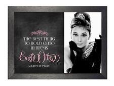 Audrey Hepburn 24 British Actress Model Motivation And Inspiration Poster Photo