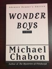 Wonder Boys Michael Chabon - 1st Edition Advance Reader's Edition MINT/NEW