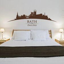 Bath England City Skyline - Roman Baths, Bath Abbey, The Circus - Bedroom Living