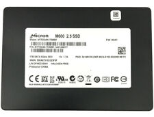 Micron M600 1TB MTFDDAK1T0MBF 7mm 2.5in SATA 6.0Gb Internal Solid State Drive