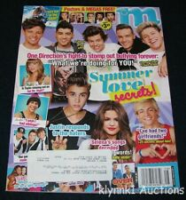 M Magazine August 2013 One Direction Harry Big Time Rush Ross Selena Justin