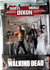 "2013 THE WALKING DEAD DARYL MERLE DIXON 5"" ACTION FIGURE 2 PACK SET MCFARLANE W/"
