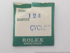 Rolex Cyclop 25-124 Acrylic Crystal Genuine New un-Sealed Package