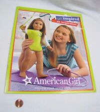 AMERICAN GIRL DOLL Big Catalog July 2012 McKenna Get Inspired Be An Inspiration