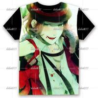 Hot Anime DIABOLIK LOVERS Cool Unisex Short Sleeve T-Shirt Tee Casual Cos #FU17
