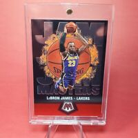 Lebron James MOSAIC CHROME JAMES LAKERS CARD - INVESTMENT - UV CASE