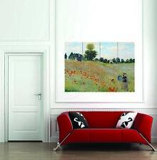 Wild amapolas Claude Monet El Impresionismo impresión de fotos de arte nuevo póster gigante