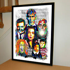The Addams Family 1964 TV Series Poster Print Wall Art 18x24