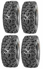 Full set of Kenda Bear Claw HTR Radial (8ply) 28x9-14 and 28x11-14 ATV Tires ...