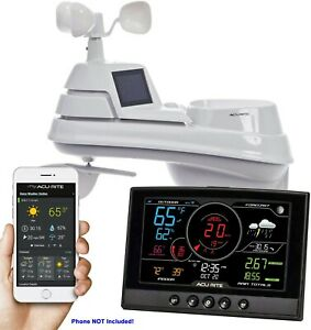 AcuRite® Iris™ 5-in-1 PRO+ Weather Station with Direct to Wi-Fi Display 01544M