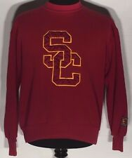 USC Trojans NCAA Pac-12 College Team Stitched Large L Red Sweatshirt Pullover