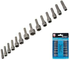 BlueSpot 14Pc Nut Driver Set For Drill Driver Socket Nuts Hex Bolts Screws 14109