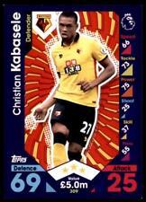 Match Attax 2016-2017 Christian Kabasele Watford Base card No. 309