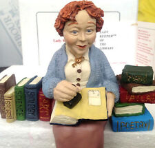 LADY KEEPER OF LIBRARY #1201 KEEPER OF BOOKS Shenandoah Designs Rare Find