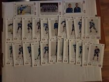 1986-87 Fredericton Express Team Set Police Set of 26 Pepsi CFNB