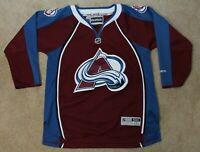 Reebok Colorado Avalanche Hockey Jersey - Youth L/XL