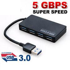 4 Port USB 3.0 Super Speed USB HUB Kabel Verteiler Adapter kompatibel USB 2.0
