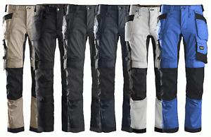 Snickers 6241 AllroundWork, Stretch Work Knee Pad Trousers Holster Pockets