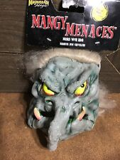 Halloween face mask Mangy Menaces One Troll Monster Rubber