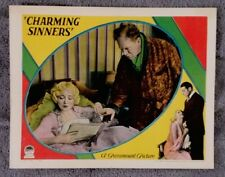 Charming Sinners Lobby Card W. SOMERSET MAUGHAM Mary Nolan CLIVE BROOK 1929