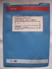 Golf 2 GTI 16V Reparaturhandbuch KR Motor+Einspritzung+Schaltpläne Reparaturbuch